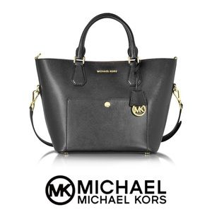 Like-New Michael Kors Large Saffiano Satchel